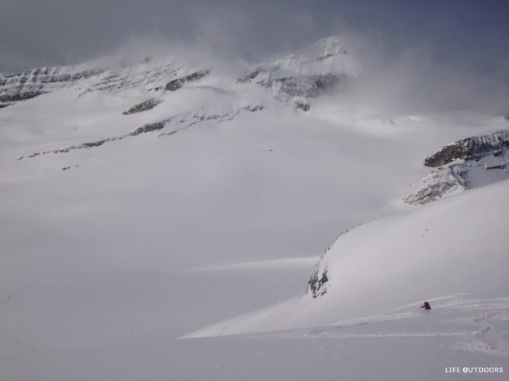 Bow_yoho_ski_traverse_Alicja_descending_to_Des_Poilus-_Glacier