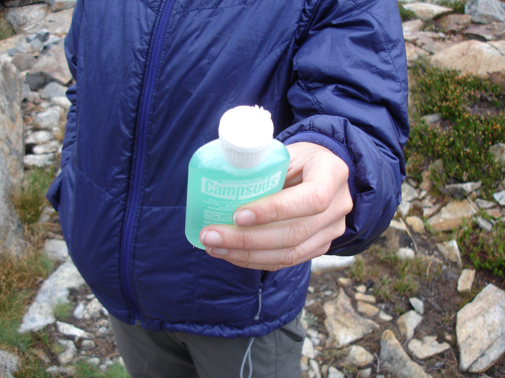 campsud soap attacked by marmot