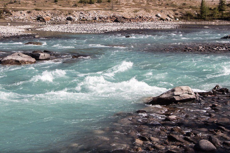 athabasca river rapids