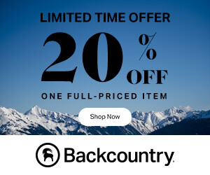 backcountry 20 off coupon code