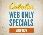cabelas web specials