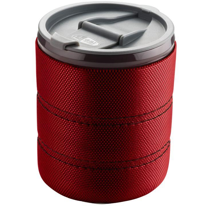 The GSI Outdoors Infinity mug in red. Image from REI.