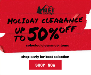 holiday clearance rei