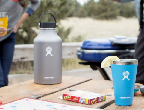 hydroflask growler pint glass