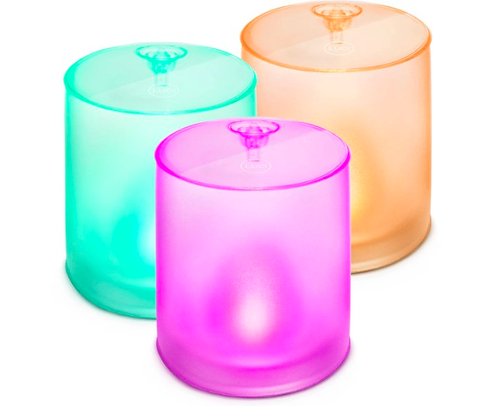 mpowered luci color essence mini trio inflatible solar lanterns rei photo
