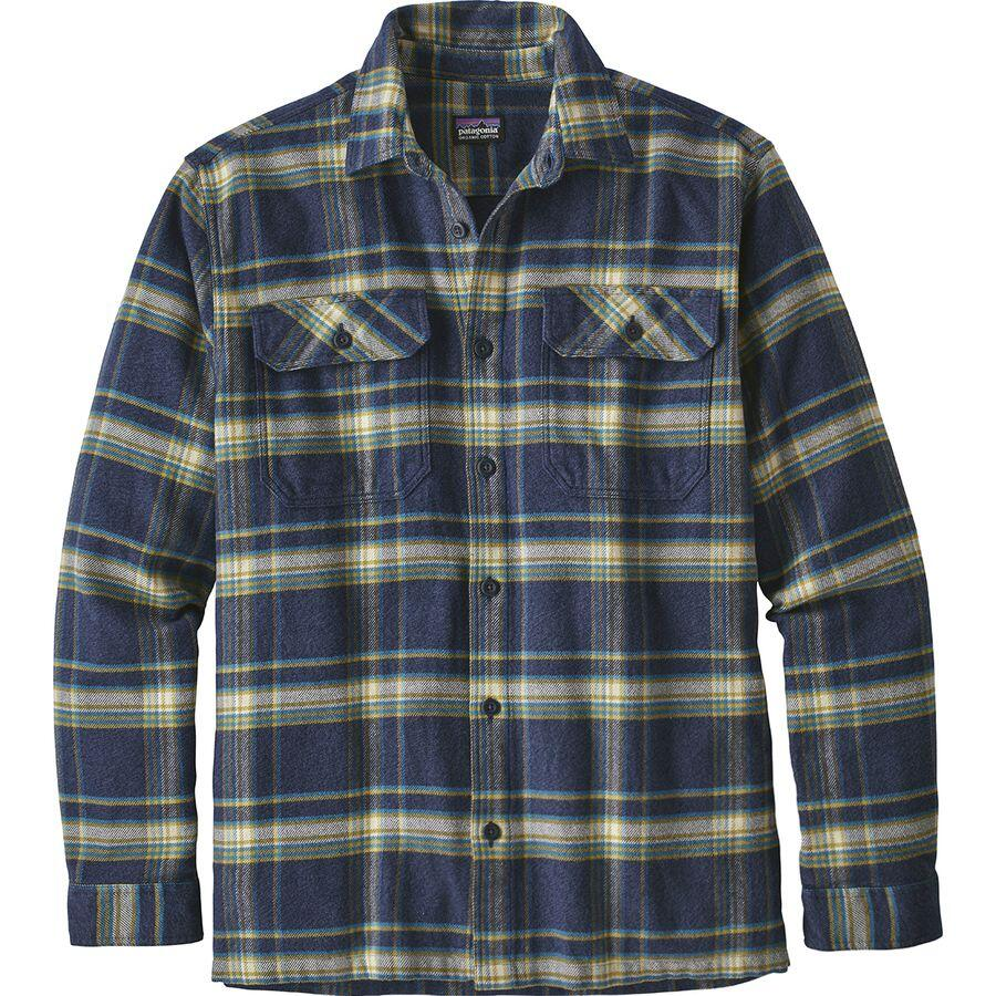 patagonia fjord flannel shirt for men backcountry image