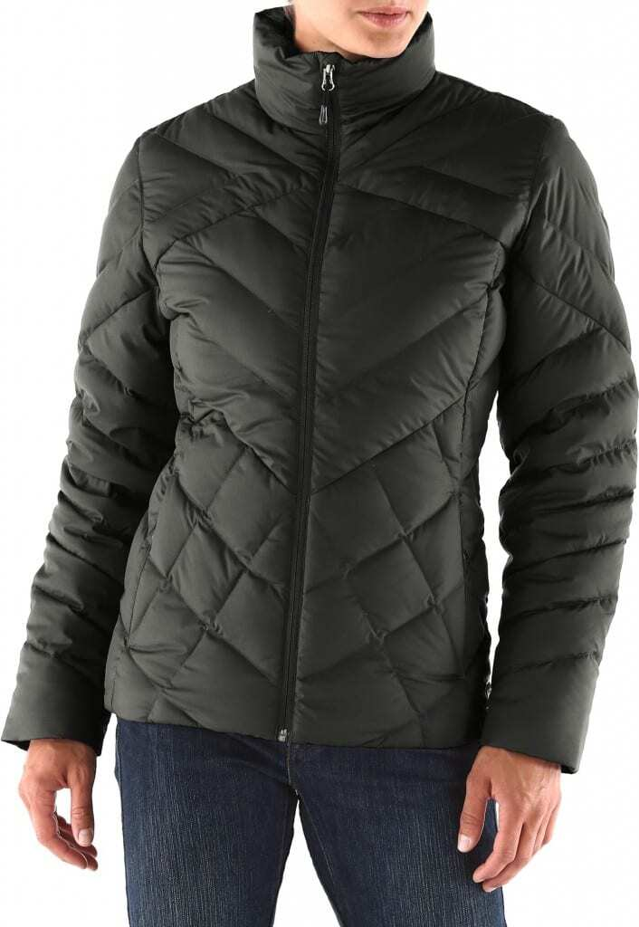 The REI Therum Duck Down Jacket is also water and wind repellant