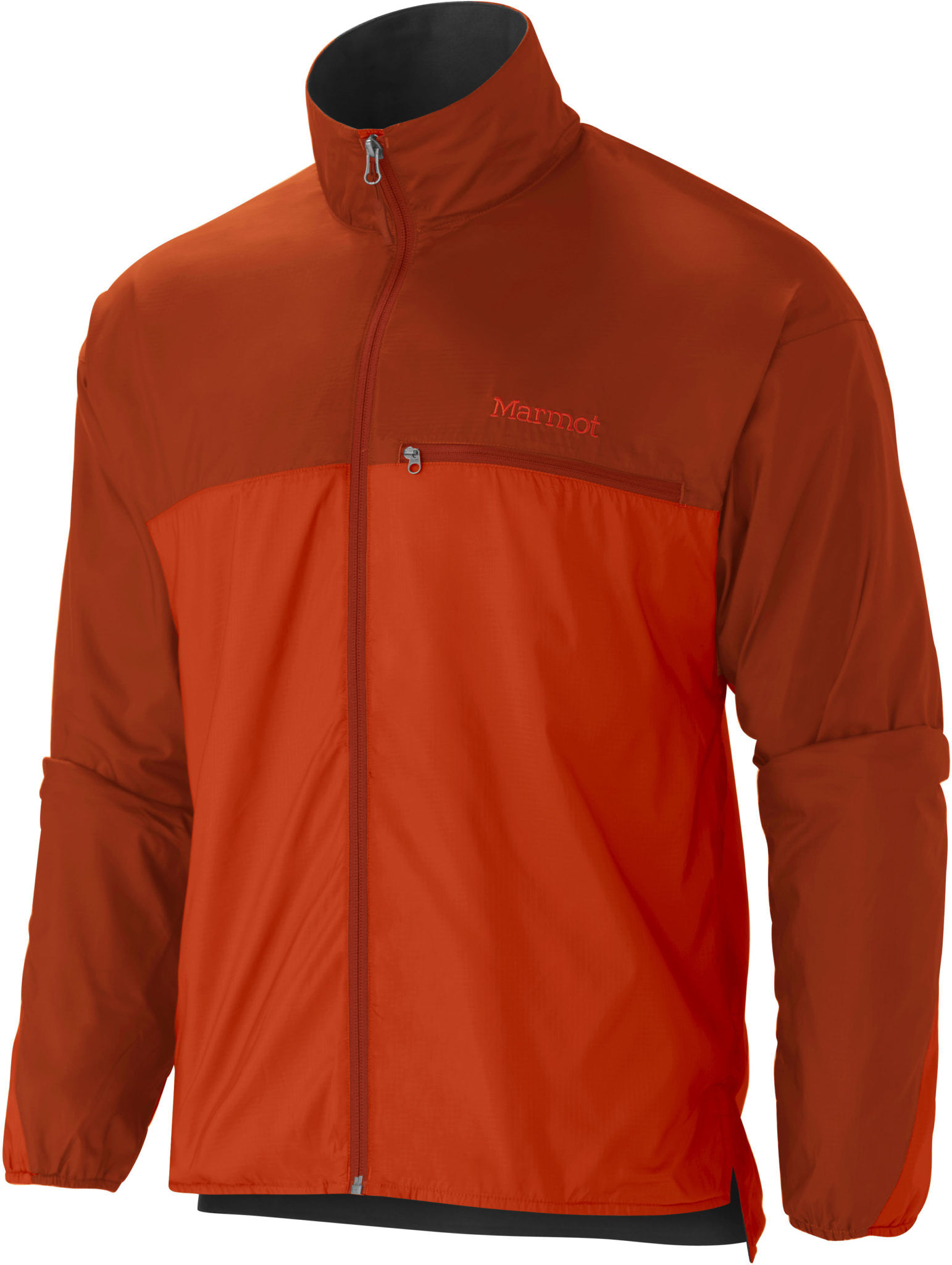 The Marmot DriClime jacket in orange haze. Image from Paragon Sports.